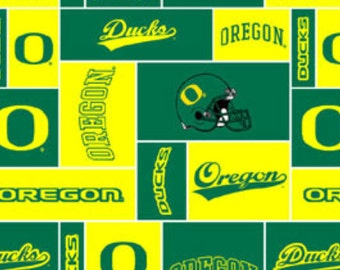 FLEECE - Oregon Ducks - Squares