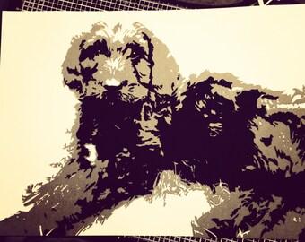 Papercut portrait - Custom