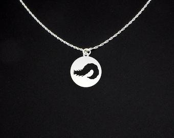 Glow Worm Necklace - Glow Worm Jewelry - Glow Worm Gift