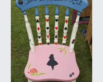 Alice in Wonderland Chairs