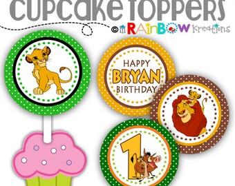 CT-782: DIY - Lion King Cupcake Toppers