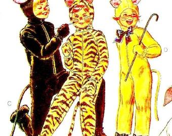 1980 Children's Animal Costumes- Size 2