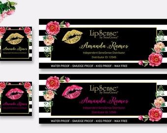 LipSense Facebook Cover - LipSense Facebook Profile Photo - SeneGence Facebook Photo - LipSense Business Card, Digital Files LS04