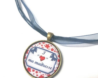 Necklace end of year teacher gift