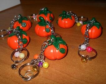 Pumpkins Halloween keychain
