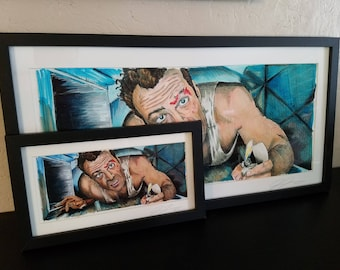 Die Hard - Come Out to the Coast Print