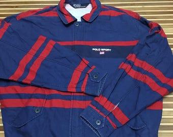 SALE 15% Vintage 90s POLO SPORT Jacket