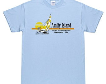 Amity Island T Shirt