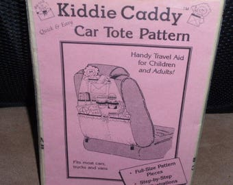 Kiddie Caddy Car Tote Pattern Full-Size Pattern   New-Uncut