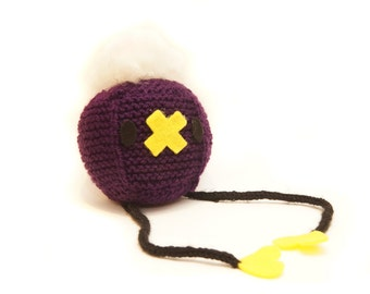 Drifloon Pokemon  Cube Handmade Plush