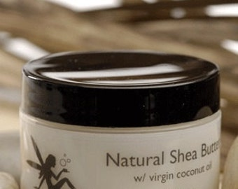 Natural Shea Butter With Virgin Coconut Oil Lemon scented