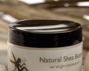 Naturel beurre de karité avec Virgin Coconut Oil citron parfumée