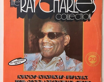 Ray Charles - The Ray Charles Collection LP Vinyl Record Album, AHED - TVLP 77028, Soul, 1977, Original Pressing, Canada