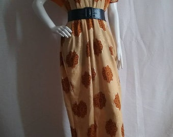 Beautiful color maxi dress available, belt not included