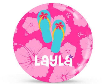 Personalized Plate - Aloha - Personalized Kids Plate