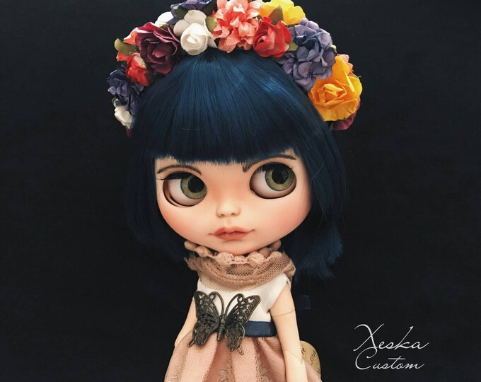 Custom Blythe Doll OOAK. BLUE MOON