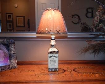 Jack Daniels Tennessee Honey Liquor Bottle Lamp