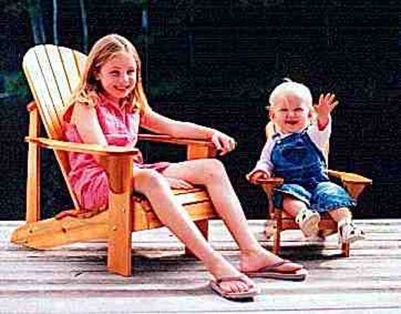 Youth Size Adirondack Chair Plans