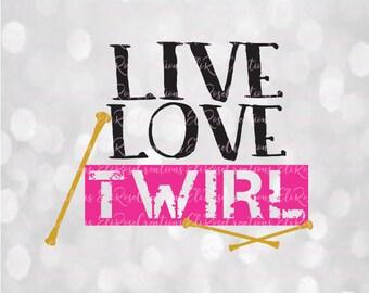 Live Love Twirl