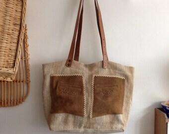Grain Sack Handbags