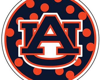 auburn sticker etsy rh etsy com Auburn University Tiger Clip Art free auburn football clipart