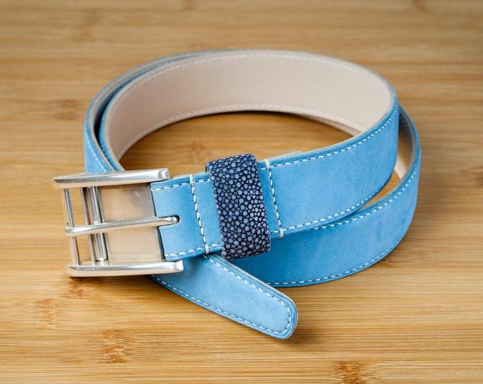 Nubuck & Stingray belt