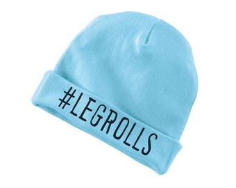 Legrolls Funny Cotton Beanie For Infants