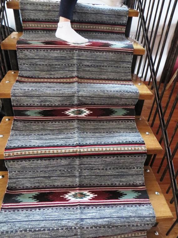 Runner Rug Aztec Rug Navajo Tribal Rug Wool Rugs Woven
