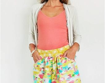 Skyline Skort: Women's Skort Sewing Pattern, Women's Skirt Sewing Pattern