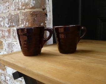 Ceramic Brown Mugs