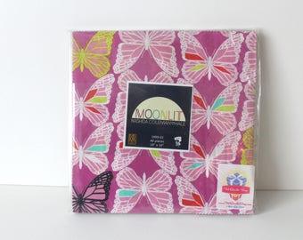 Moonlit Layer Cake- Cotton and Steel Layer Cake- Ten by Ten- OOP Layer Cake- HTF Layer Cake- Modern Fabric-Fabric Destash-Sale Fabric Bundle