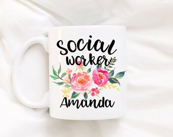 Social worker/social worker gift/BSW/MSW/social worker coffee mug/coffee mug/DISHWASHER safe