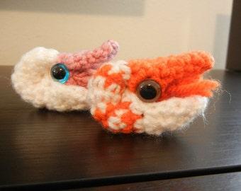 Crochet Pattern: Chambered Nautilus