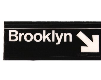 Brooklyn Magnets, Refrigerator Magnets, Brooklyn Art, Souvenir, Kitchen Magnets, Kitchen Decor Fridge Magnets, Brooklyn New York