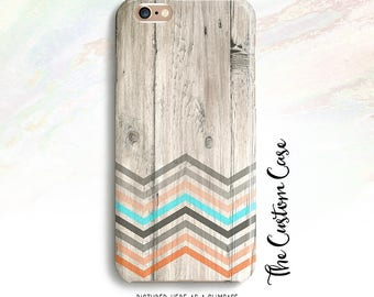 Chevron on Wood Phone Case, Chevron Iphone Case, Chevron on Wood Case, for Iphone and Samsung cases