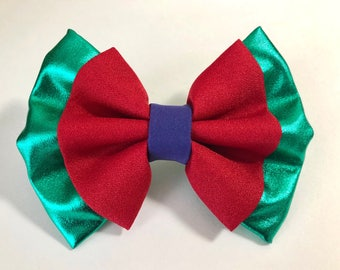 Little Mermaid Ariel Bow