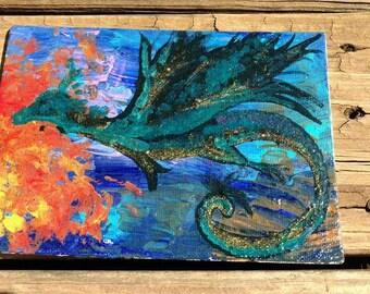 Original Dragon Painting