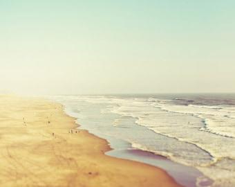 Beach Art, Beach Print, California Beach Photograph, Beach Wall Art, Ocean Print, Ocean Photography, Coastal Wall Art - California Dreamin'