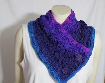 Roxy's Cowl Crochet Pattern PDF