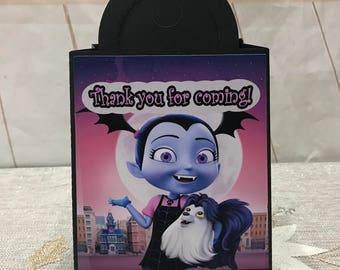 Vampirina favor bags, Vampirina treat box, Vampirina supplies, Vampirina decoration. 12ct.