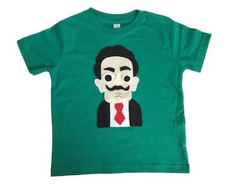 Dali Kids Tee - Kelly Green