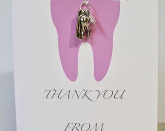 Thank You from the Tooth Fairy / Girl / Necklace