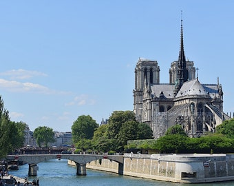 Notre Dame Cathedral in the Spring