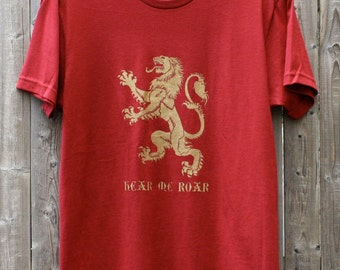 Lannister Lion // Hear Me Roar // Game of Thrones Shirt
