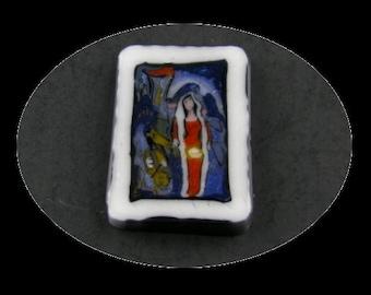 The Bride Glass Murrine Boro Cane - 135