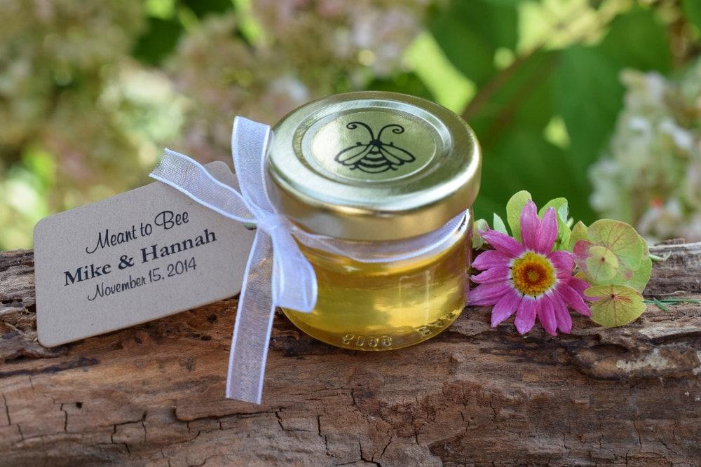 Set Of 27 1 Oz Honey Jar Favors Wedding Favor Bridal
