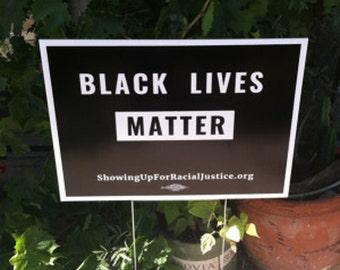 Black Lives Matter yard sign 50-pack