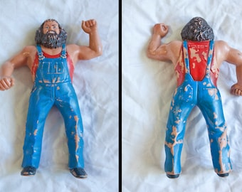 80s Hillbilly Jim - WWF Wrestling Superstars - Vintage Pro Titan 1984 LJN