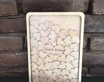 Wedding Guest Book, Wedding Guest Book Alternative