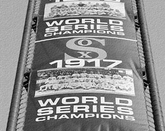 Chicago White Sox Canvas Art / World Series Team Banner at U.S. Cellular Field